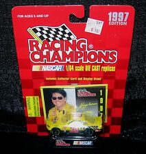 1997 NASCAR Racing Champions JOHNNY BENSON #30 (Factory Sealed; 1/64 Die Cast)