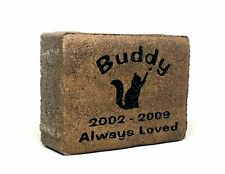 Personalized, Engraved, Pet Memorial Stone, Dog, Cat, Horse, In Loving Memory