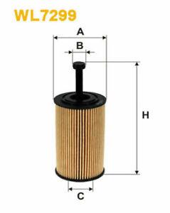 WIX Oil Filter WL7299 (Ref Ryco R2608P) fits Citroen C3 1.4 i (FC), 1.6 (HB),...