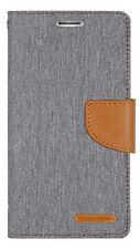 Funda TPU con Tapa Tipo Cartera Canvas Book para Sony Xperia M5