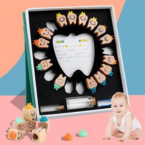 Baby Tooth Storage Holder Case Milk Teeth First Teeth Keepsake Organizer Box