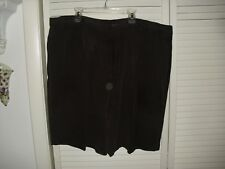 TOMMY BAHAMA BROWN MEN'S DRESS SHORTS 100% SILK EUC