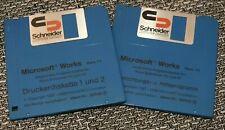 Microsoft Works Vers. 1.1 - Ident-Nr.: 50036 + 50038 (Diskette) Deutsch