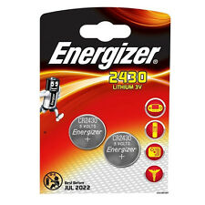 2 x ENERGIZER 2430 BATTERY 3V LITHIUM BUTTON COIN BATTERIES ECR2430 L20 CR2430