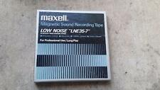 Maxell  LOW NOISE .1800 ft- LNE35-7  Reel to Reel Tape