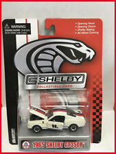1965 65' Shelby Collectibles Ford Mustang Shelby GT-350R Rare White Blue Red 98B