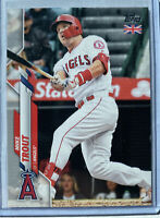 2020 Topps UK Edition 🇬🇧 MIKE TROUT 🐐 ANGELS 🏆 MVP Future HOF Card #1