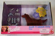 Barbie Glam 'n Groom Pets Ruby Set