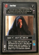 Lord Maul Star Wars CCG