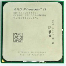AMD Phenom II x6 1055t HDT 55 twfk 6dgr SKT am3 95w 2.8ghz 3mb CPU Processori