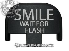 Rear Slide Plate for Smith Wesson S&W SD9 SD40 VE 9mm 40 BK Smile Wait Flash 1