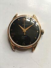 Vintage RARE Men RAKETA PAKETA Wrist Watch 2609A.1 21JEWELS USSR BLACK DIAL AU20