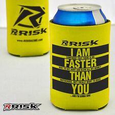 Risk Racing BIRRA Isolante Comodo GIALLO divertente bottiglia di portalattine