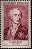 """FRANCE STAMP TIMBRE N° 1031 """" MARQUIS DE LAPLACE 30F+9F """" NEUF xx TTB"""