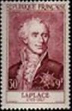 "FRANCE STAMP TIMBRE N° 1031 "" MARQUIS DE LAPLACE 30F+9F "" NEUF xx TTB"