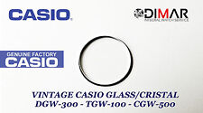 CRISTAL / GLASS CASIO ORIGINAL DGW-300 - TGW-100 - CGW-500  NOS
