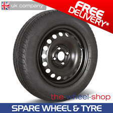 """14"""" Fiat 500 & 500C - 2007 - 2015 Full Size Spare Wheel and Tyre - Free Delivery"""