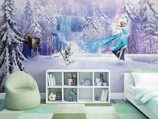 Disney Wall mural wallpaper for children's bedroom Giant poster style Frozen