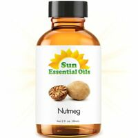 Best Nutmeg Essential Oil 100% Purely Natural Therapeutic Grade 2oz