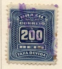 Brazil 1906 Early Issue Fine Used 200r. NW-16954