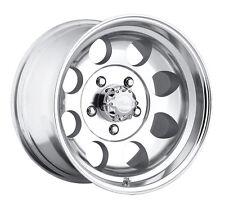 "4-NEW Pacer 164P LT Mod Polished 15x8 5x139.7/5x5.5"" -19mm Polished Wheels Rims"