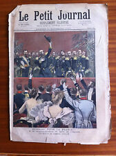 ?Le petit Journal 11/11/1893; Les adieux de l'Amiral Avellan à l'Opéra