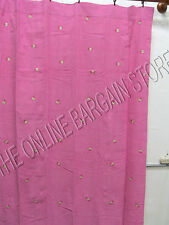 "Pottery Barn Kids Ladybug Corduroy Drapes Panels Curtains Pink Pole Top 44x84"""