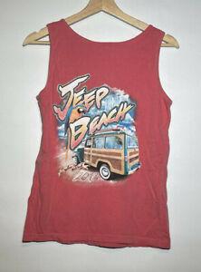 Jeep Beach Tank Top Peach Jeep Week Daytona Beach Tank Comfort Colors | Size M