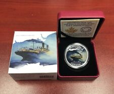 2014 $20 Fine Silver Coin Lost Ships In Canadian Waters Empress Of Ireland.