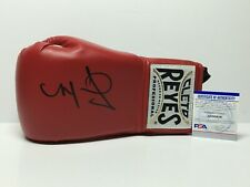 Miguel Cotto Signed Red Cleto Reyes Boxing Glove PSA AG85639