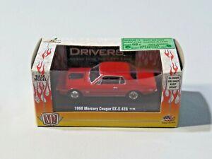 M2 Machines 1968 Mercury Cougar GT-E 428 Release 11 NEW Red 1:64 Die Cast