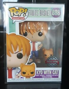 KYO WITH CAT 888 Fruits Basket, Exclusive Special Edition Funko Pop Vinyl Figure