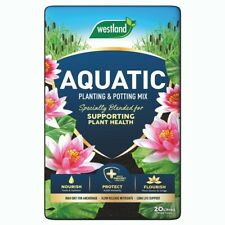 More details for westland aquatic compost 20l  pond aquatic compost lily  buy 2 get free gloves