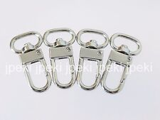 25 Metal Swivel Clasp Snap Hook Clips Trigger Lanyard D Ring Hardware GH-44-25
