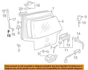 VW VOLKSWAGEN OEM 93-14 Jetta Trunk Lid-Strut Clip 443823397
