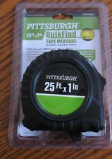 New Pittsburgh 25 - Foot X 1 inch QuikFind Tape Measure - Harbor Freight (2av)