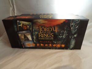 LORD OF THE RINGS TCG WAR OF THE RING ANTHOLOGY 18 CARD TENGWAR SET IN BOX