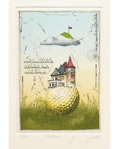 Dieter Portugall, Golf, Clubhaus