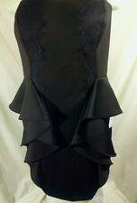 NWT BCBG Generation Dress Mini Strapless Cutout Back Prom $118 Stunning
