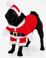 BOOHOO NOVELTY CHRISTMAS DOG OUTFIT & HAT- SUPER CUTE - SIZE EXTRA SMALL