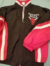 Vintage NBA Chicago Bulls Jump Ball Club Mighty Mac Sports Jacket Youth Size 7