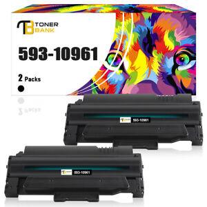 2 Toner XXL Kompatibel für Dell 1130 1130N 1133 1135N 2MMJP 593-10961 Schwarz