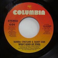 "Barbra Streisand(7"" Vinyl)What Kind Of Fool-Columbia-11430-UK-Ex/Ex"