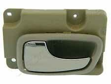 98-00 VOLVO 70 SERIES LR INTERIOR DOOR HANDLE TAUPE driver left rear inside