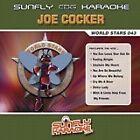 JOE COCKER SUNFLY KARAOKE CD+G DISC - WORLD STARS