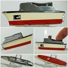 briquet gaz bateau / SANKEI Butane Lighter -Vintage Lighter-Feuerzeug-Accendino