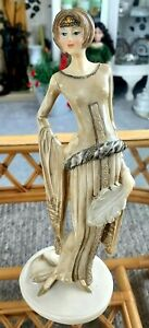 Leonardo collection lady figurine 28cm