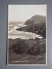 R&L Postcard: Lundy Cove near Polzeath, F A Maycock
