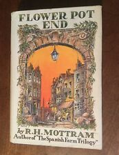 1935 - R H Mottram. Flower Pot End.  First Edition In Dust Wrapper.