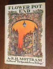 1935 - R H Mottram. Flower Pot End.  First Edition In Dust Wrapper.